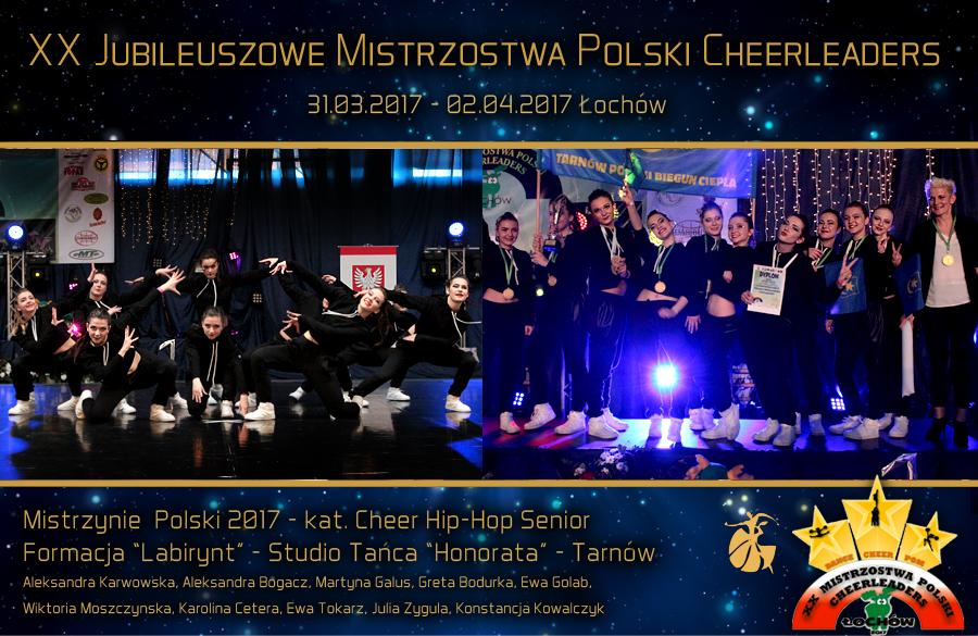 Labirynt-Mistrzynie-Polski-Cheer-Hip_Hop-Tarnow-Honorata