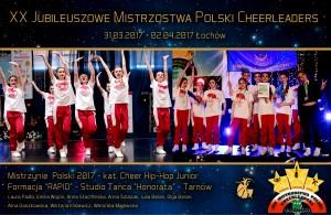 XX-Mistrzostwa-Polski-Cheerleaders-2017-Łochów-Studio-Tańca-Honorata-RAPID-Hip-Hop-Mistrzynie-Polski