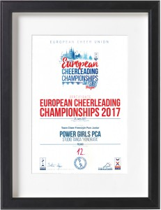 dyplom-european-cheerleading-championships-2017-studio-tanca-honorata-tarnow-power-girls
