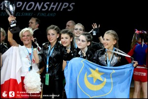 ECC 2010 Finland Helsinki Power Girls Silver Medal (50)